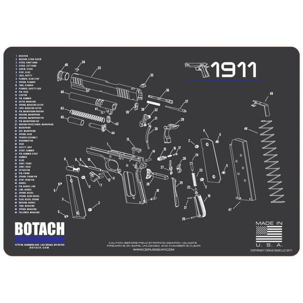 Botach Gun Cleaning Mats