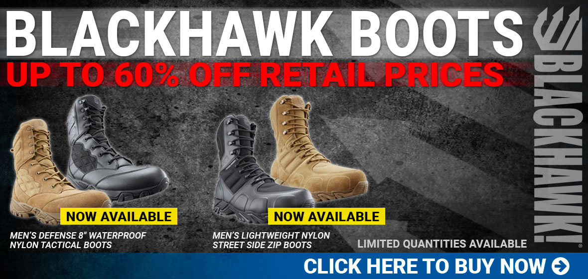 Blackhawk Boots Up to 60% Off Retail Prices
