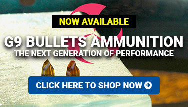 G9 Bullets Ammunition Now Available