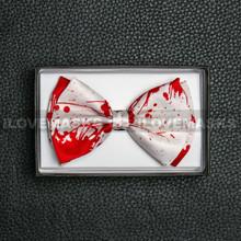 Bow Tie - Bloody / White