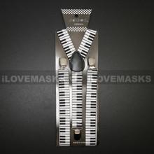 Suspenders - White Piano