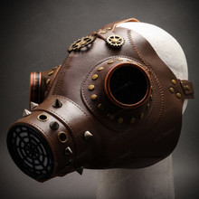 Plague Doctor Gas Mask Display