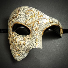 Phantom of the Opera' Venetian Masquerade Mask-Black