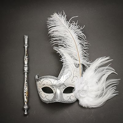 Mask on Stick