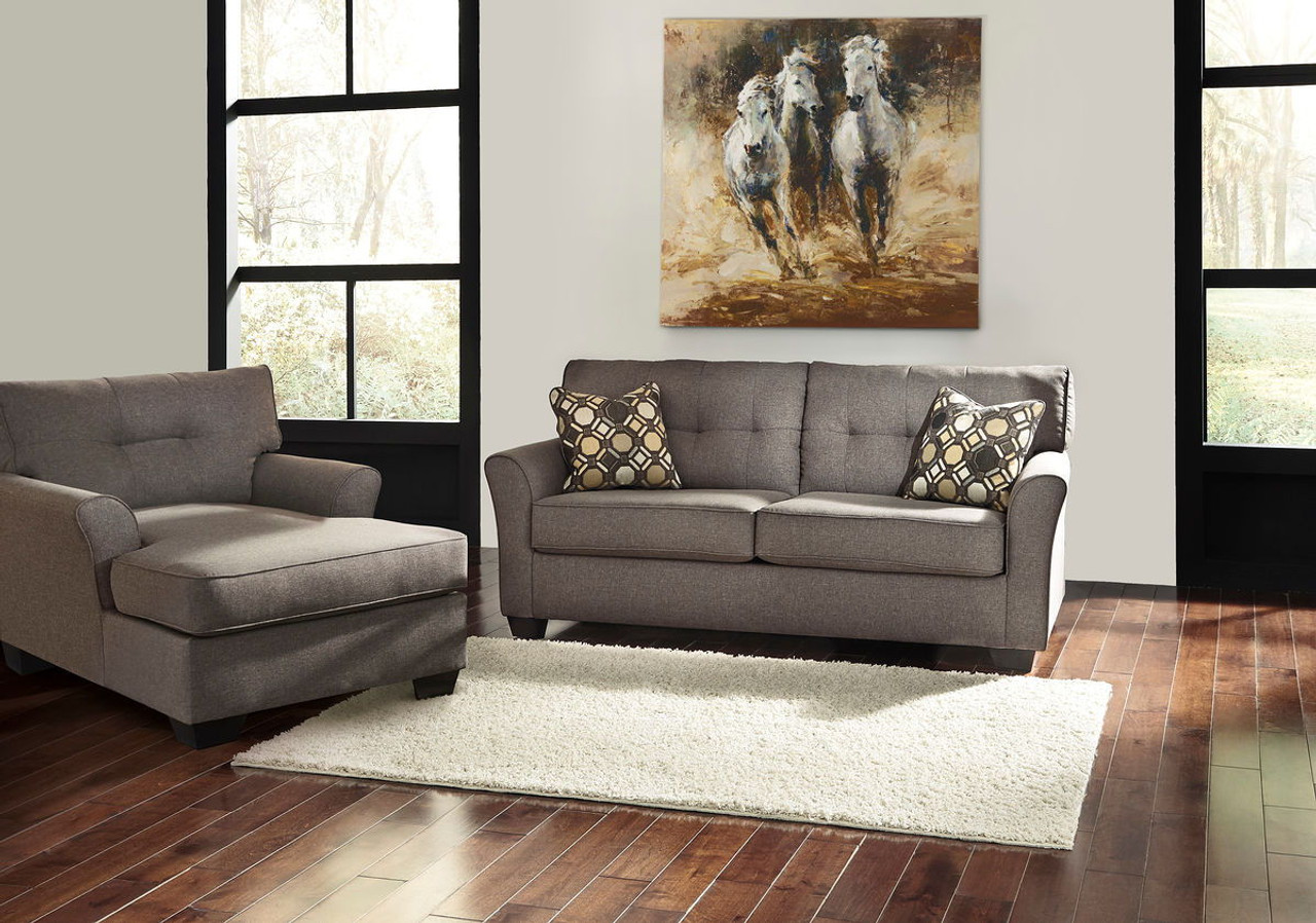 The Tibbee Slate Sofa Amp Chaise Available At Acf Wholesale