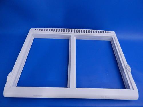 Frigidaire Top Mount Refrigerator Crisper Cover Frame 24170569D