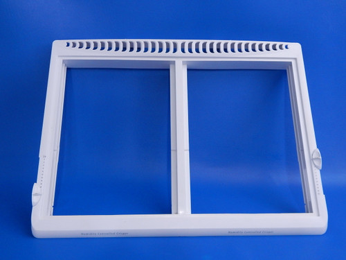 Frigidaire Top Mount Refrigerator Crisper Cover Frame 240337000