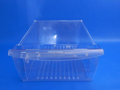 Frigidaire Side X Side Refrigerator FRS26HF7BB0 Upper Crisper Bin 240351005