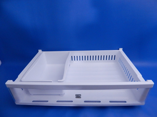 Kenmore Bottom Mount Refrigerator 79571043010 Upper Freezer Drawer AJP72909803