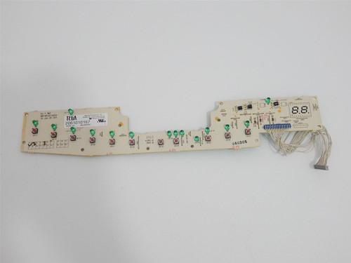GE Dishwasher GLD5560L00SS User Interface Control Board 165D7803P001