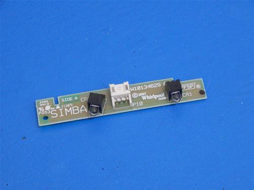 Whirlpool Gold SxSide Refrigerator GS5VHAXWY01 Dispenser Light Board W10245284