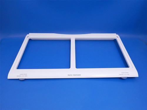 Kenmore 3 Door Refrigerator 79571023012 Crisper Drawer Cover Frame ACQ36701111