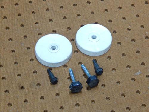 Whirlpool Dishwasher DU930PWSQ1 Leveling Legs & Wheels 3374849 302819