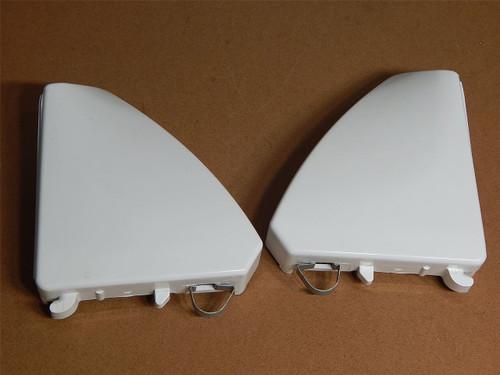 Whirlpool Dryer WED4800XQ0 Endcaps 8566035 8566032