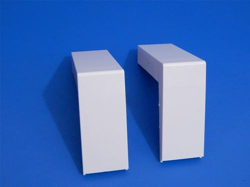 Whirlpool 3 Door Refrigerator WRF989SDAM02 Fridge Drawer Rail End Caps W10248853