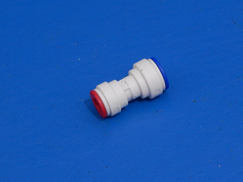"""Refrigerator Water Line 5/16"""" to 1/4"""" Push in Fitting Reducer Adapter"""