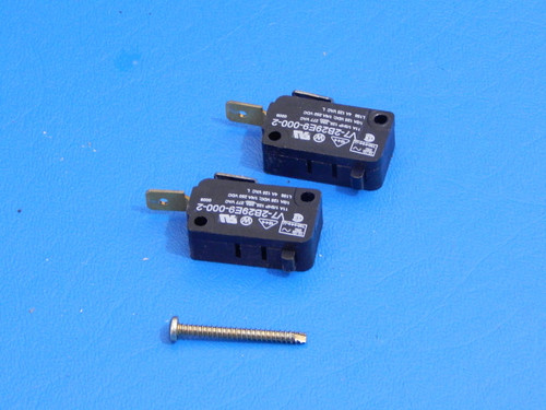 Frigidaire Side By Side Refrigerator FRS26ZTHB3 Dispenser Switches 218284800