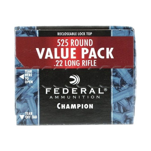 federal 22 long rifle 36gr hollow point copper plated 745