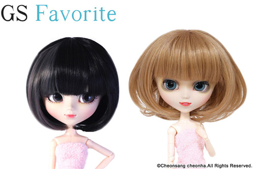 GS favorite:Bob hair set (001,004)