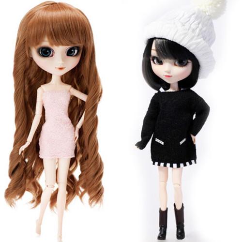 My Select Pullip Merl Body&Knit One-piece Dress Black Version Set(P174, O819)