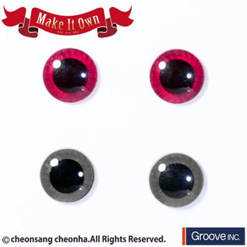 Eyechip: Pink & Gray