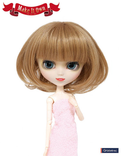 Wig:Bob (Light brown hair color)
