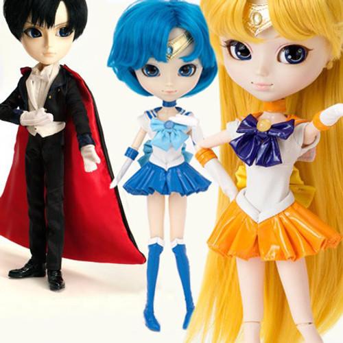 GS favorite:Tuxedo Mask & Sailor Mercury & Sailor Venus (T249,P136,P139)
