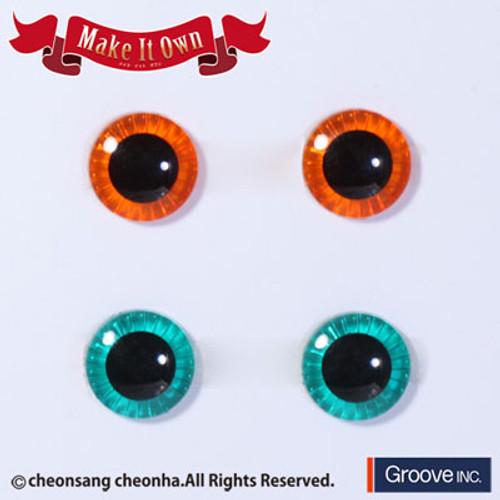 Eyechip: Orange & Green
