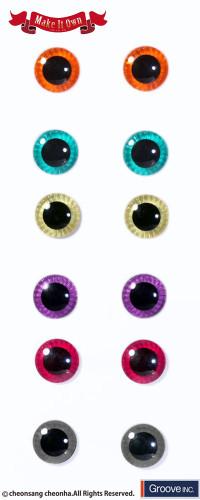 GS favorite:Eyechip Colorful color set(002,007,009)
