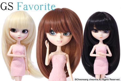 GS favorite:Long hair set (005,009,010)