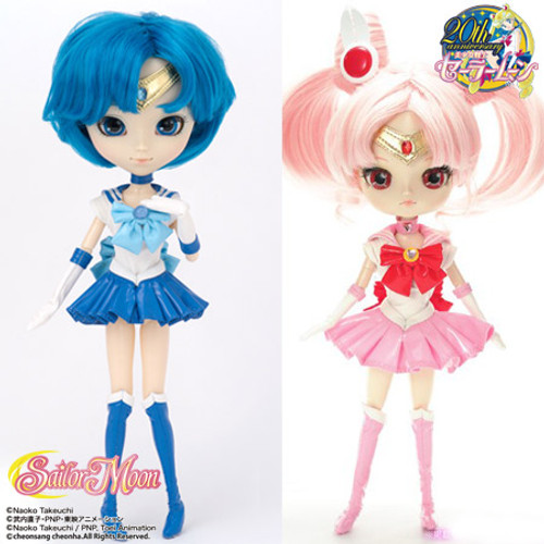 GS favorite:Sailor Mercury&Sailor Chibi Moon(P136D154)