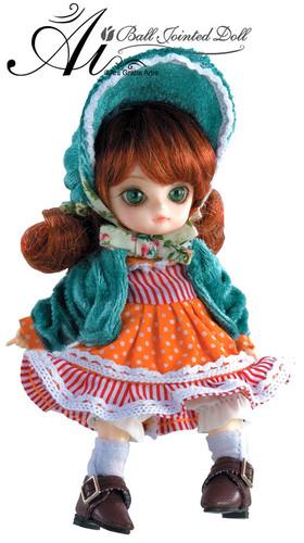 Sample doll /  Rhodanthe