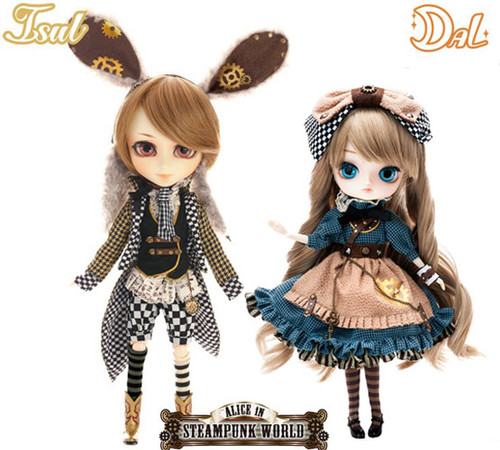 GS favorite:White Rabbit & Dal *Alice  in STEAMPUNK WORLD  (I934,D155)