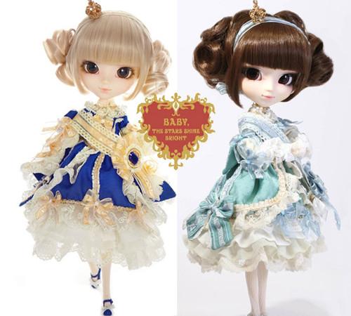 GS favorite:La robe vert clair & La Robe Vert Bleu Royal (P113,P163)