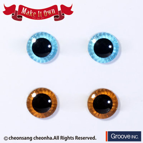 Eyechip: Light Blue & Brown