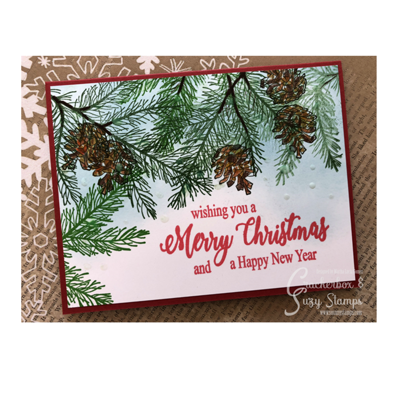 Merry Christmas brush
