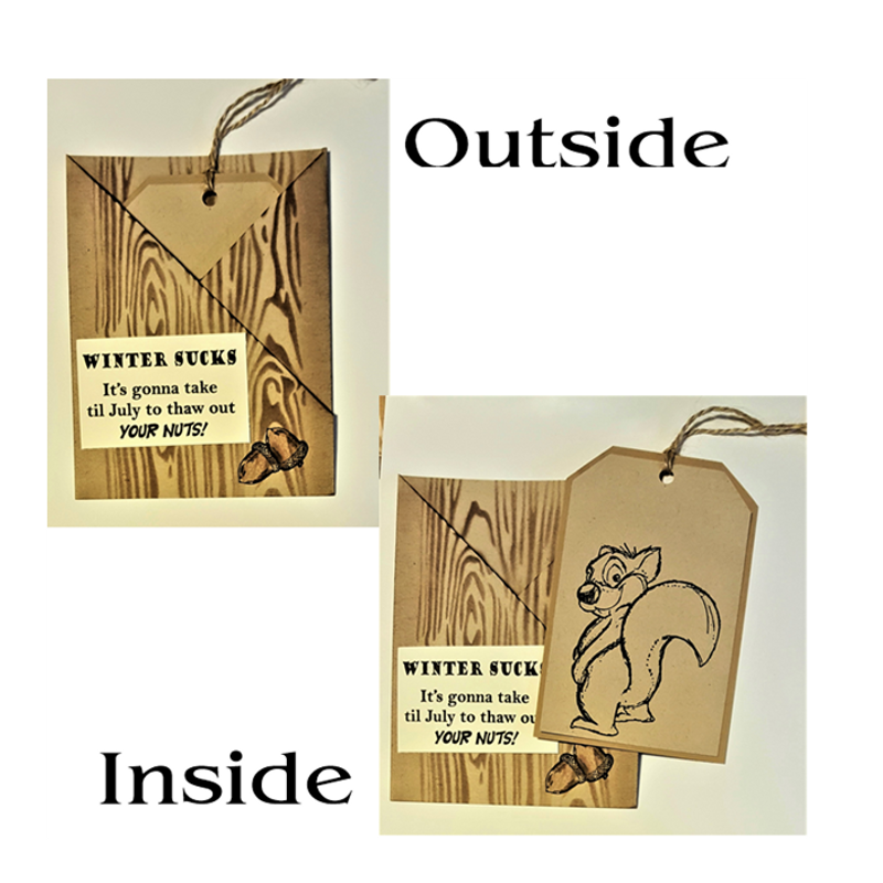 Chuck the Squirrel set of 3
