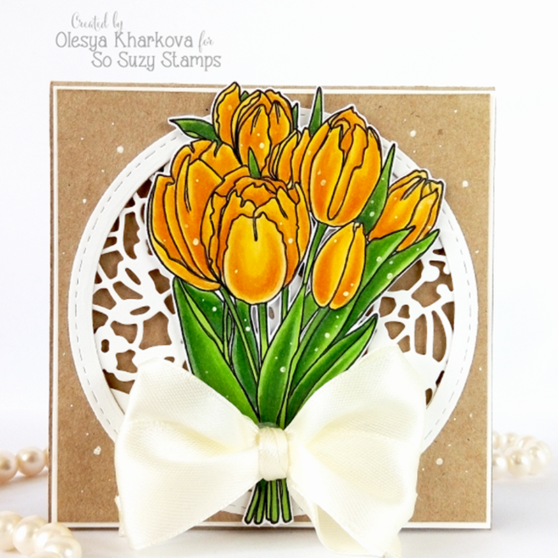 Tulip Bunches designed by Olesya
