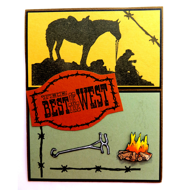 Best Of The West split card