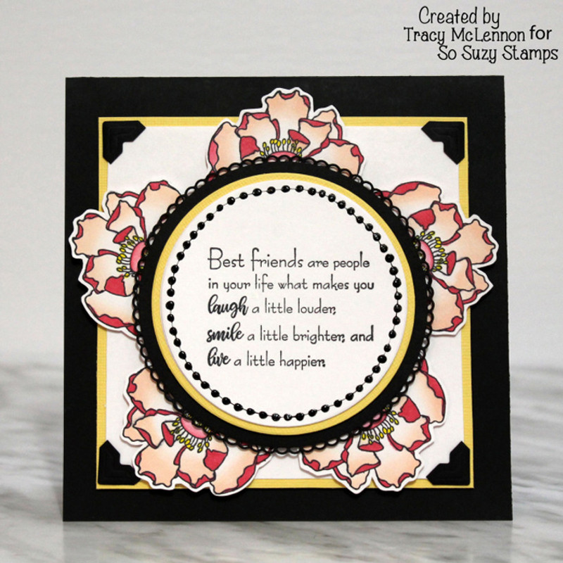 Friendship card by Tracy