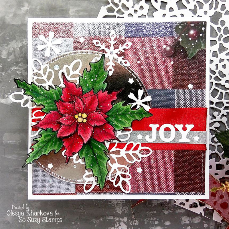 Poinsettia Joy by Olesya