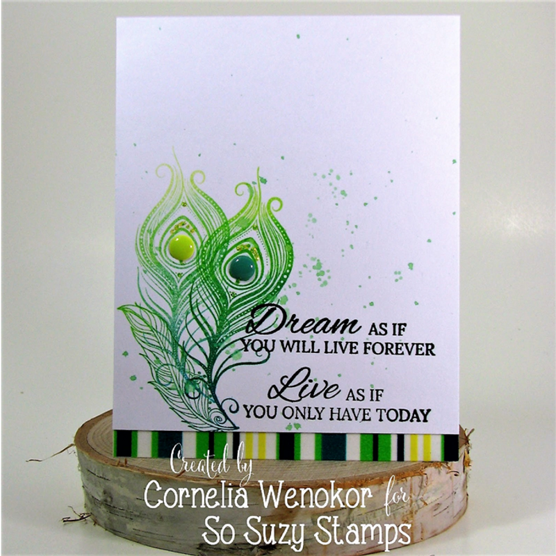 Cornelia Feathers 2 Ways