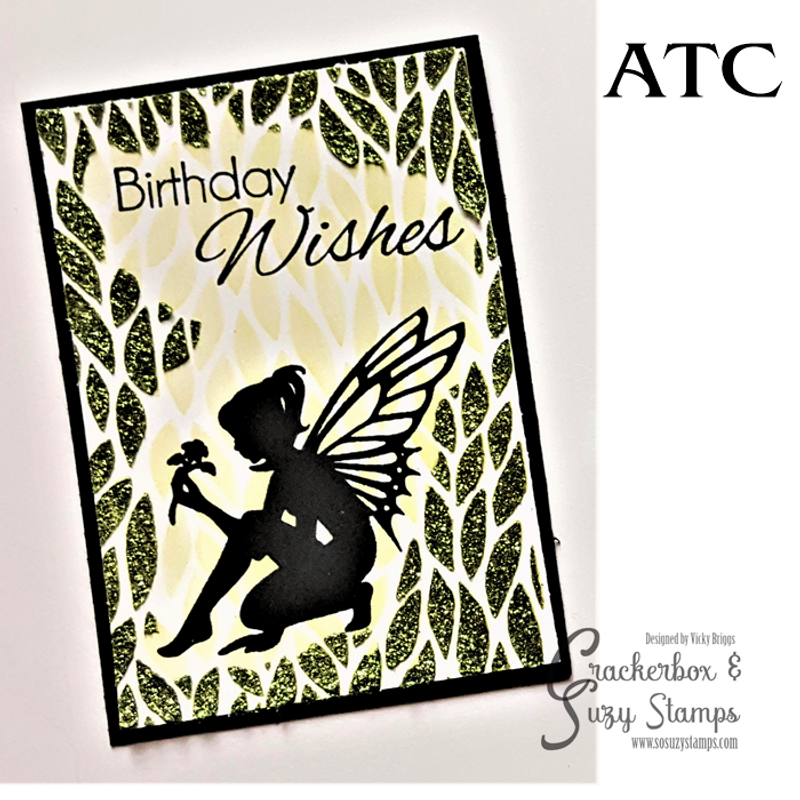Fairy In The Grass ATC