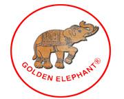 Golden golden-elephant-brand