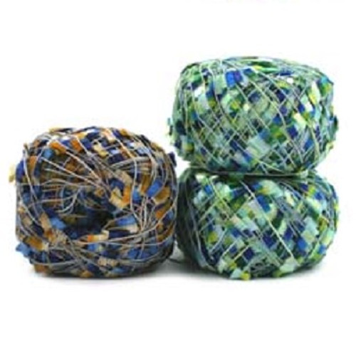 Flora is part of the large collection of component yarns offered by Trendsetter Yarns.