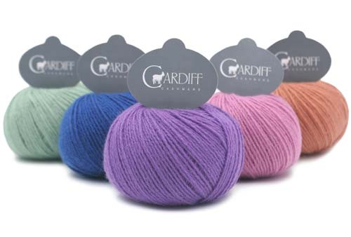 Cardiff Cashmere  Yarns Classic