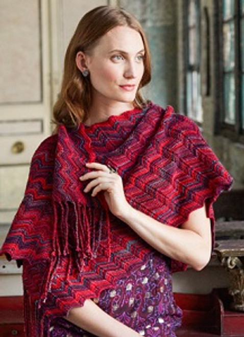 Fringed Shawl (Holiday 2015)