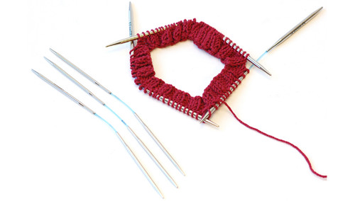 A new way of knitting in the round.