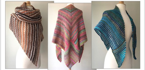 LANA GROSSA MAMA MIA SHAWL KIT