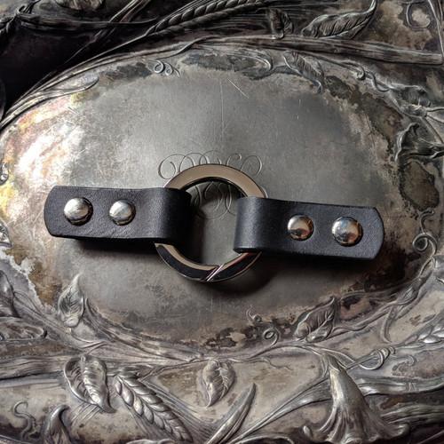 Jul Designs Cordoba Ring Leather Closure(Black)